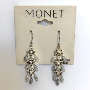 Vintage 2000's Monet Mini Chandelier Earrings